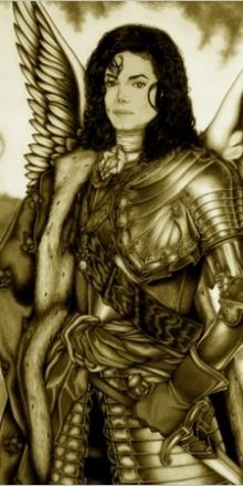 «Archangel» – Crayons on board. 32″ x 48″