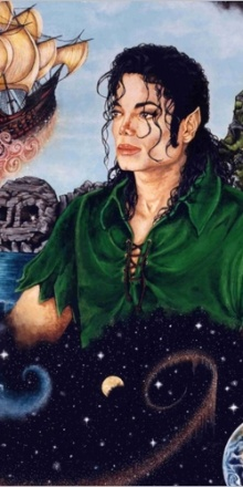 « Peter Pan » – Acrylics on board. 20″ x 30″