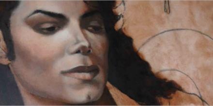 «Icon» (Work in progress) – 100x100cm – Oil on wood