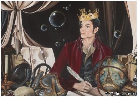 Allegory - Tableau réalisé pour Michael Jackson par Céline Lavail