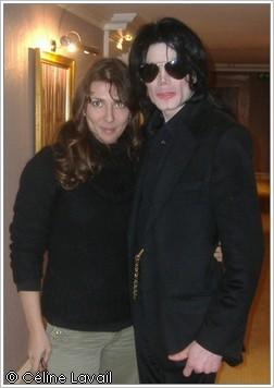 Céline Lavail retrouve Michael Jackson à Londres en 2007