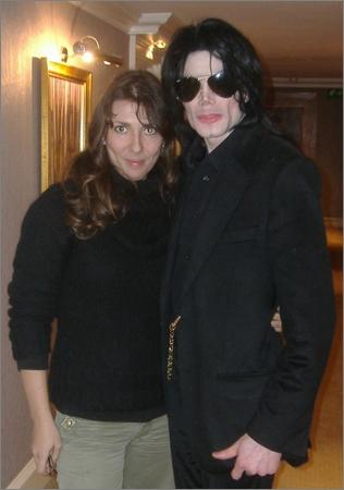 Céline Lavail et Michael Jackson