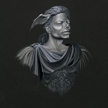 «Messenger» – 60x50cm – Acrylique